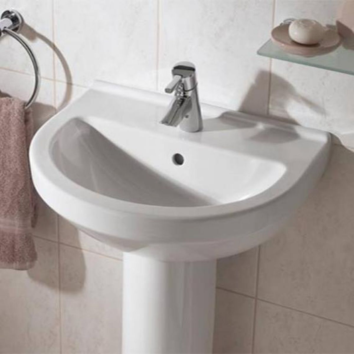 Vitra S50 Round Bathroom Basin