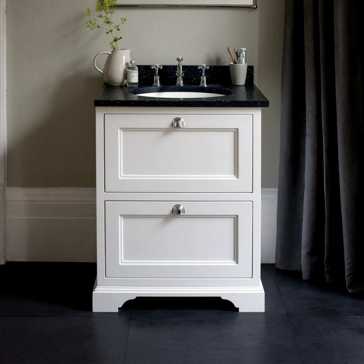 Burlington 65 Freestanding Vanity Unit With Two Drawers