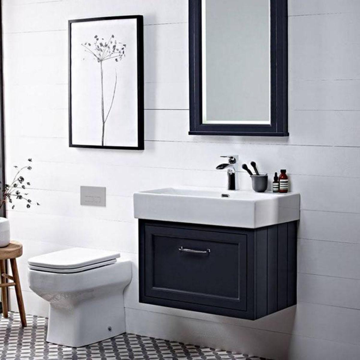 Roper Rhodes Hampton 700mm Wall Mounted Vanity Unit Uk Bathrooms