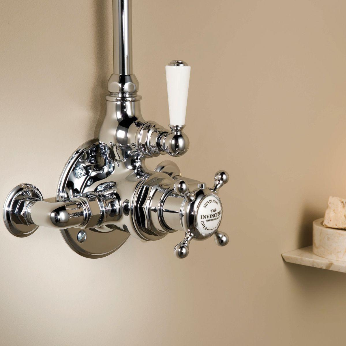 matki swadling invincible exposed thermostatic shower. Black Bedroom Furniture Sets. Home Design Ideas