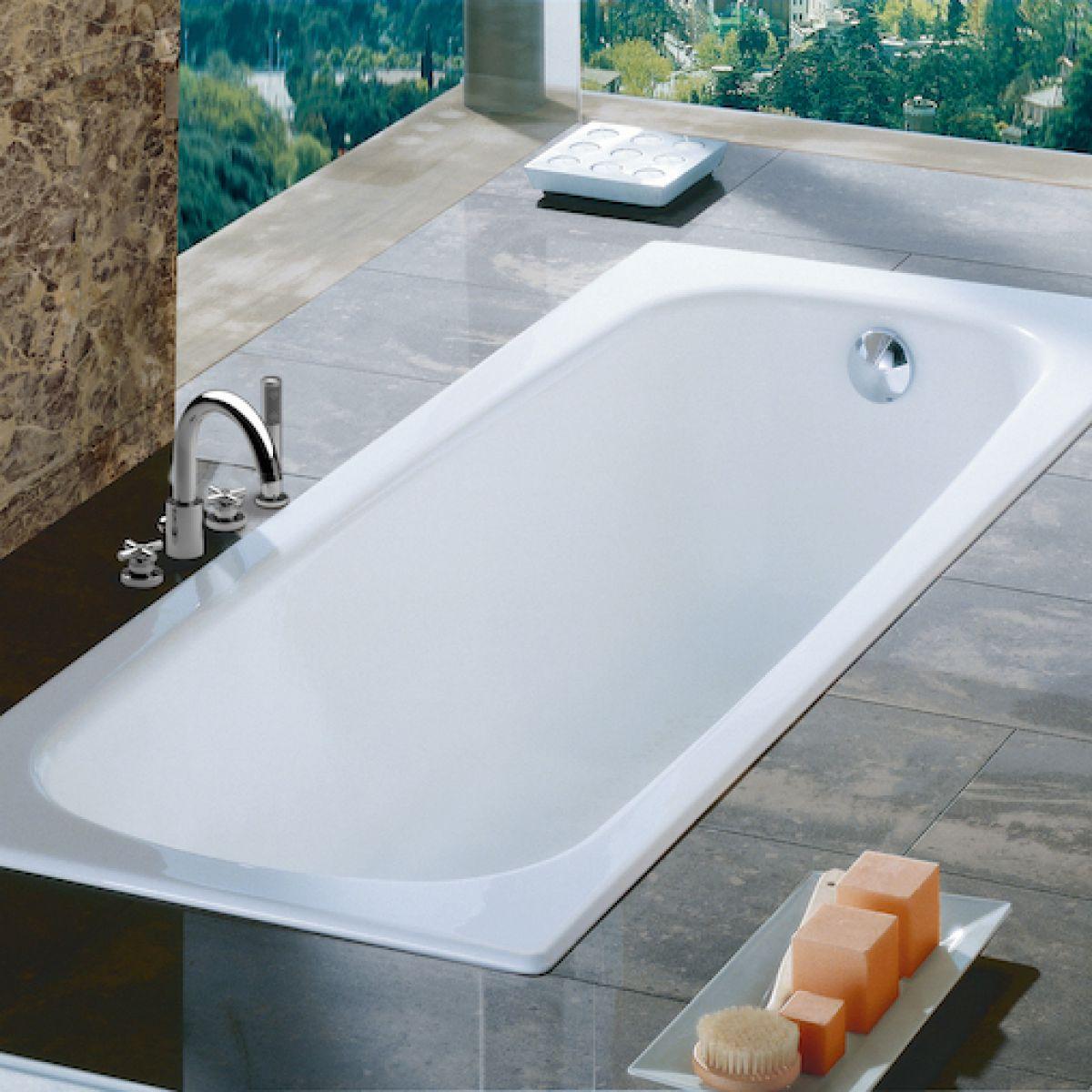 Roca Contesa Standard Steel bath : UK Bathrooms