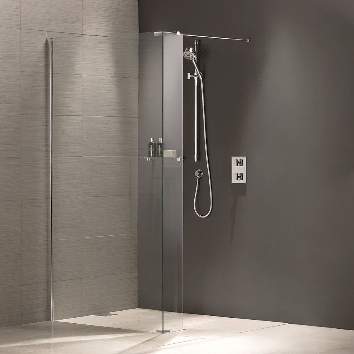 dilusso dfour wet screens wetroom shower screen products room