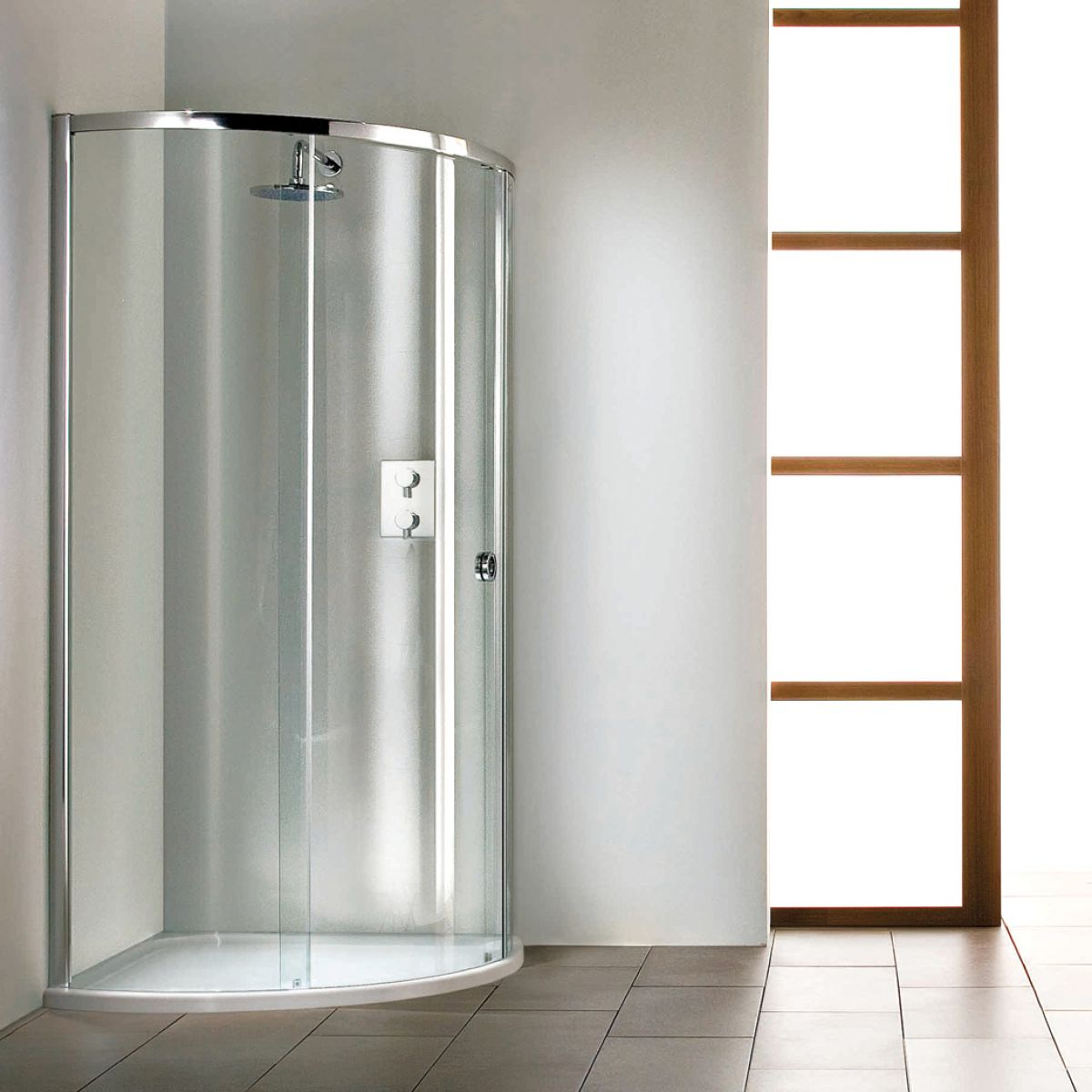 Matki Radiance Curved Surround with Slimline Shower Tray