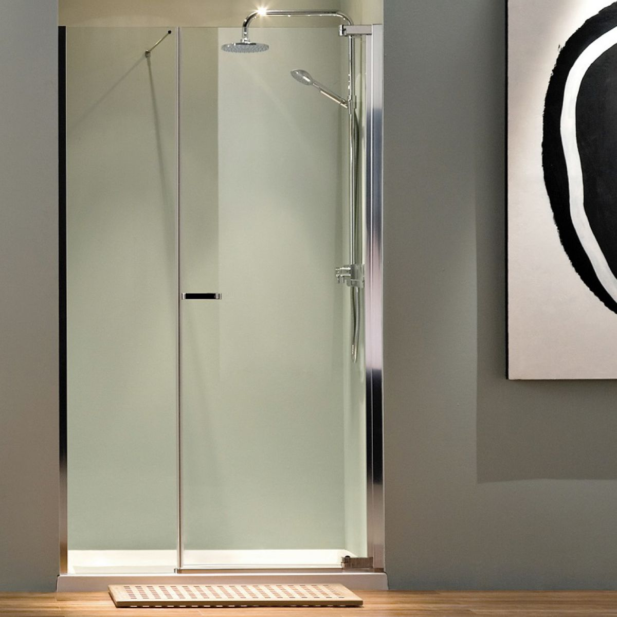 Matki Radiance 1200mm Pivot Inline Shower Door Uk Bathrooms