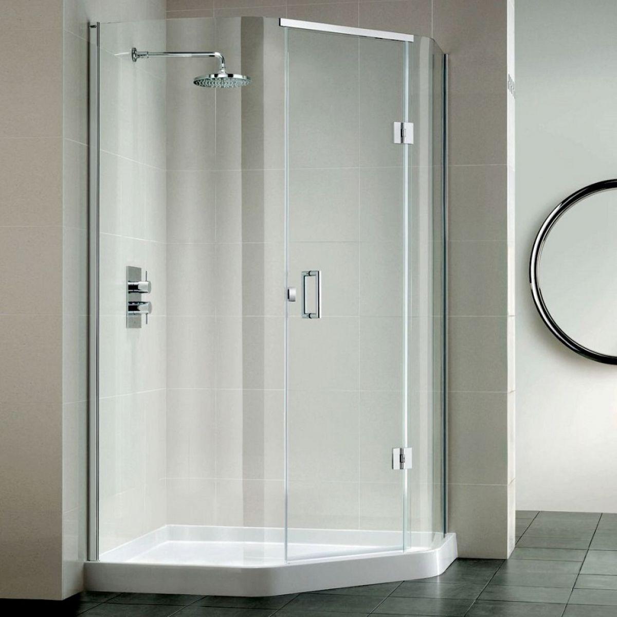 Matki Original Illusion Quintesse Corner Shower Enclosure : UK Bathrooms