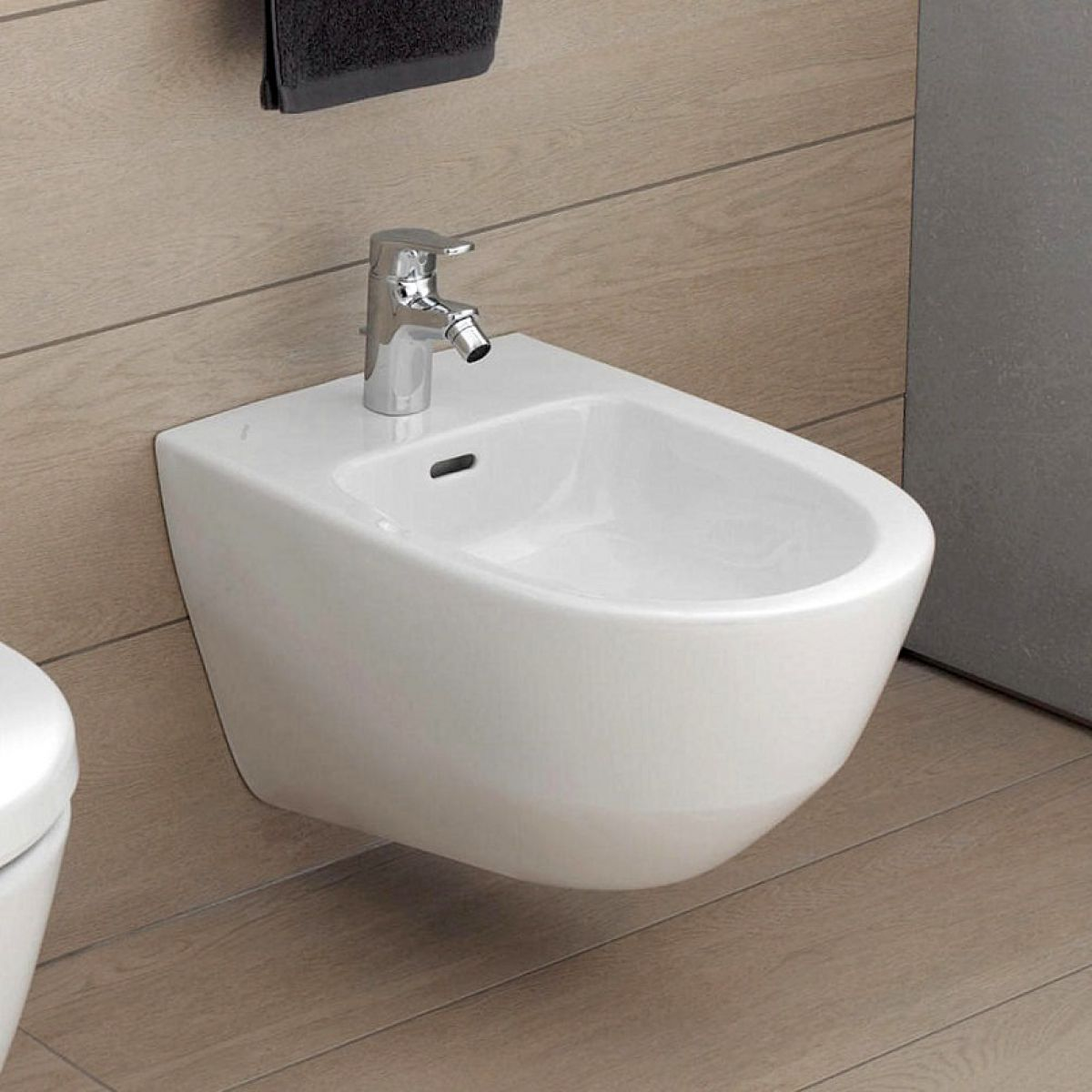laufen pro new wall hung bidet uk bathrooms. Black Bedroom Furniture Sets. Home Design Ideas