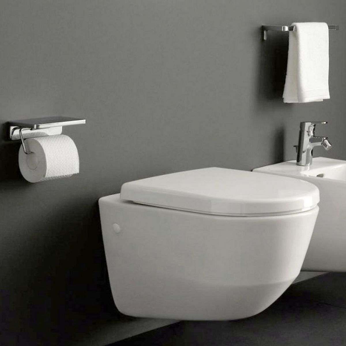 laufen pro wall hung rimless toilet uk bathrooms. Black Bedroom Furniture Sets. Home Design Ideas