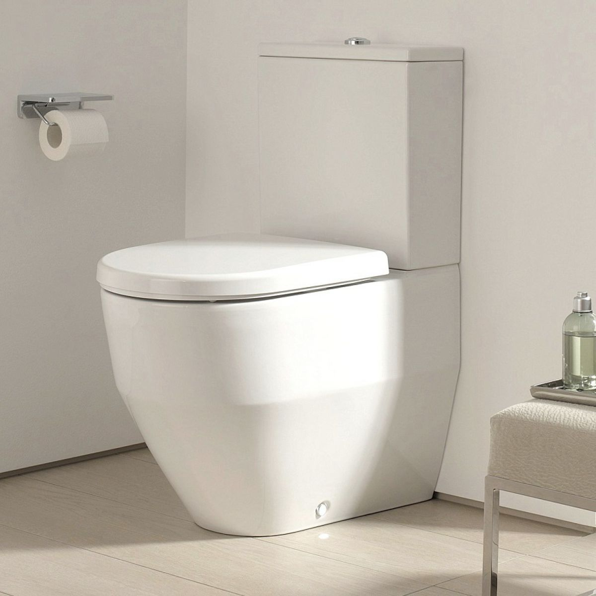 Laufen Pro Close Coupled Fully Back To Wall Toilet Uk