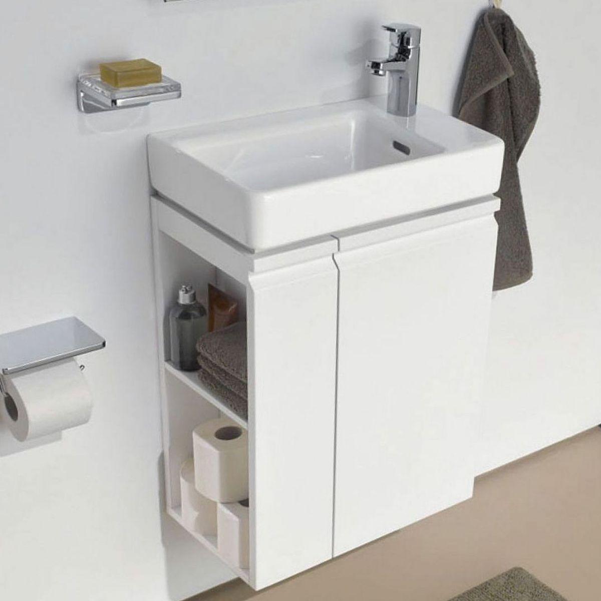 laufen pro s asymmetrical vanity unit with basin uk bathrooms. Black Bedroom Furniture Sets. Home Design Ideas