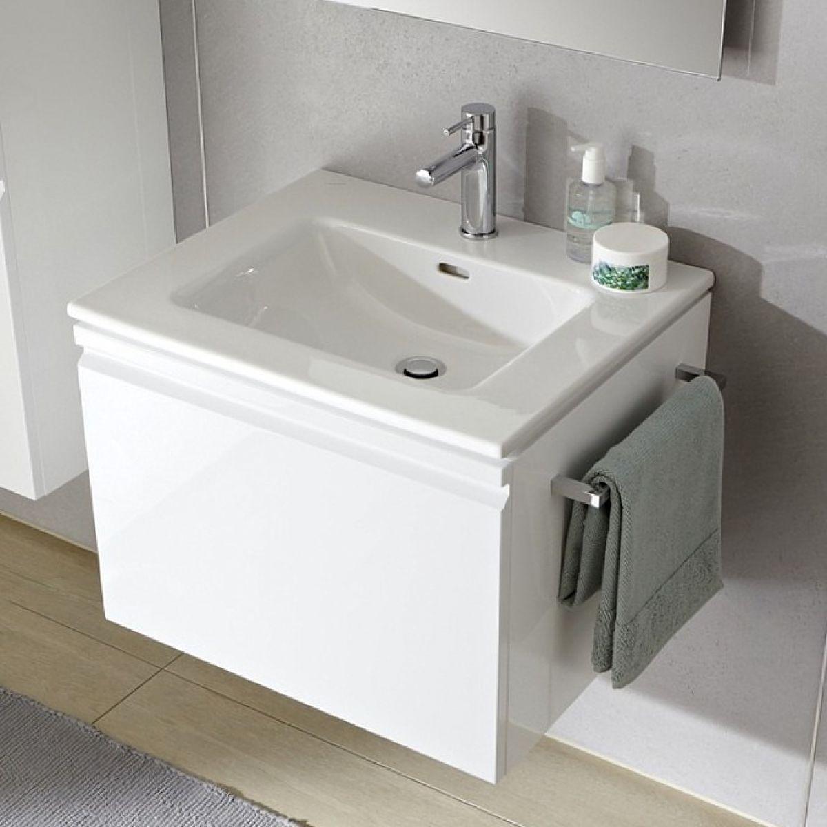 laufen pro s single drawer vanity unit slim basin uk bathrooms. Black Bedroom Furniture Sets. Home Design Ideas