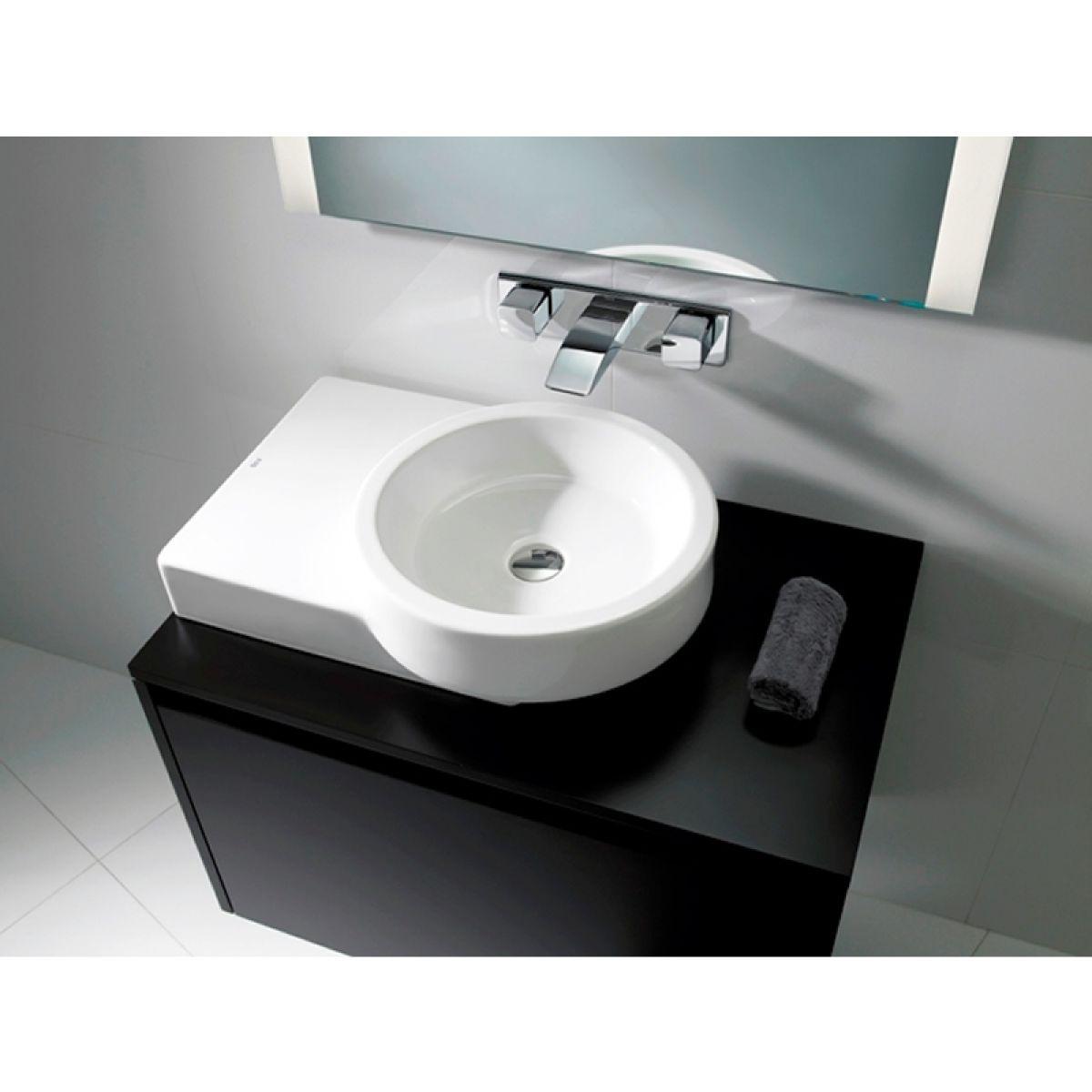 Roca Post Countertop Basin A32722r000 Uk Bathrooms