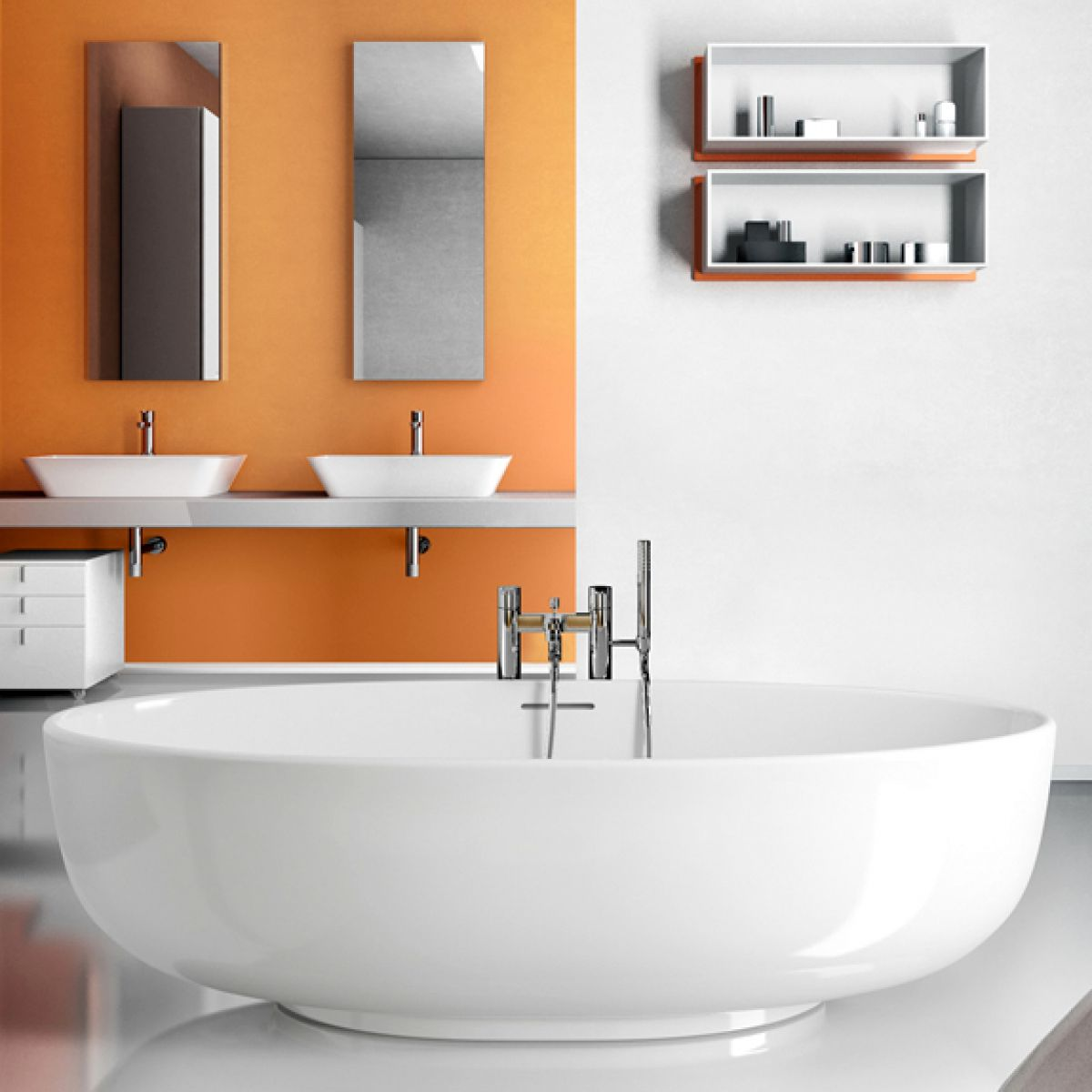 Bathroom Vanities Clearwater Fl: Clearwater Puro Freestanding Clearstone Bath : UK Bathrooms
