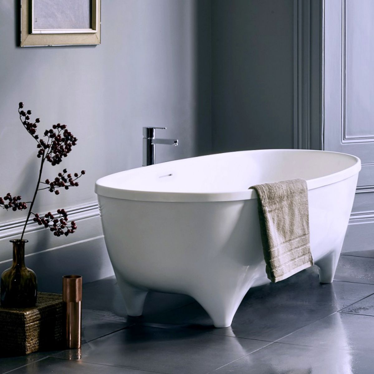 Bathroom Vanities Clearwater Fl: Clearwater Vigore Freestanding Natural Stone Bath : UK