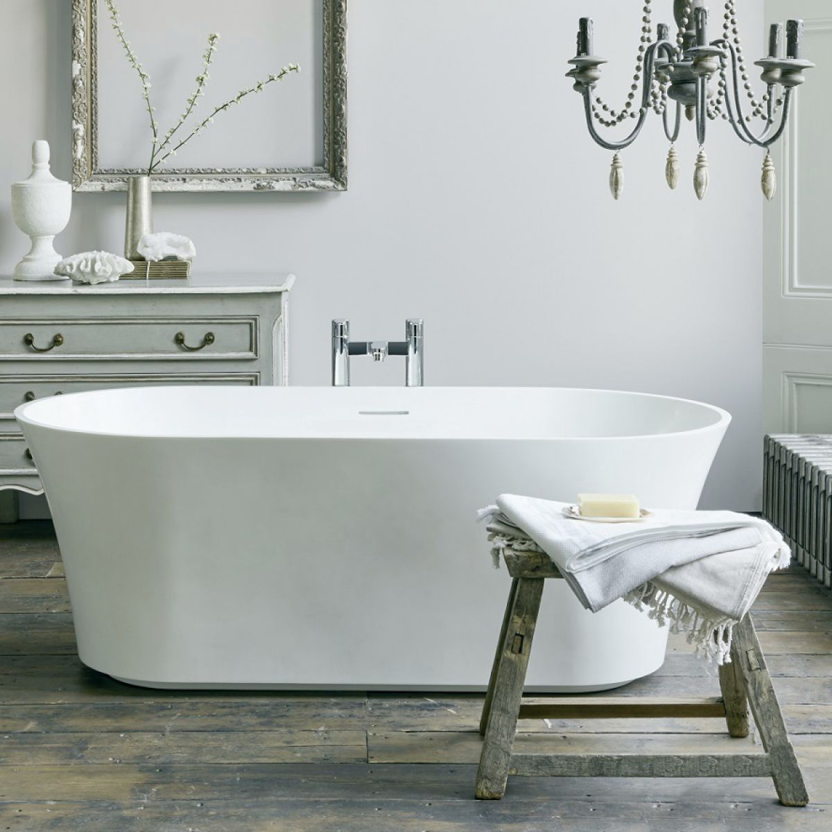 Clearwater Armonia Freestanding Natural Stone Bath : UK ...
