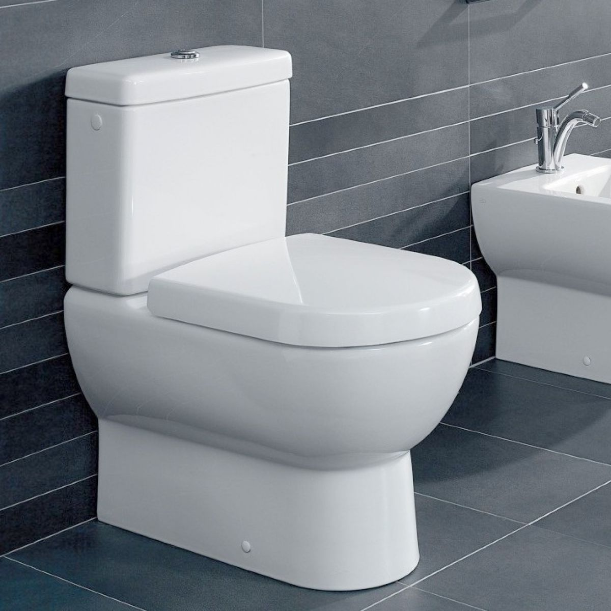 Wet Room Wall Panels >> Villeroy & Boch Subway Close Coupled Toilet : UK Bathrooms