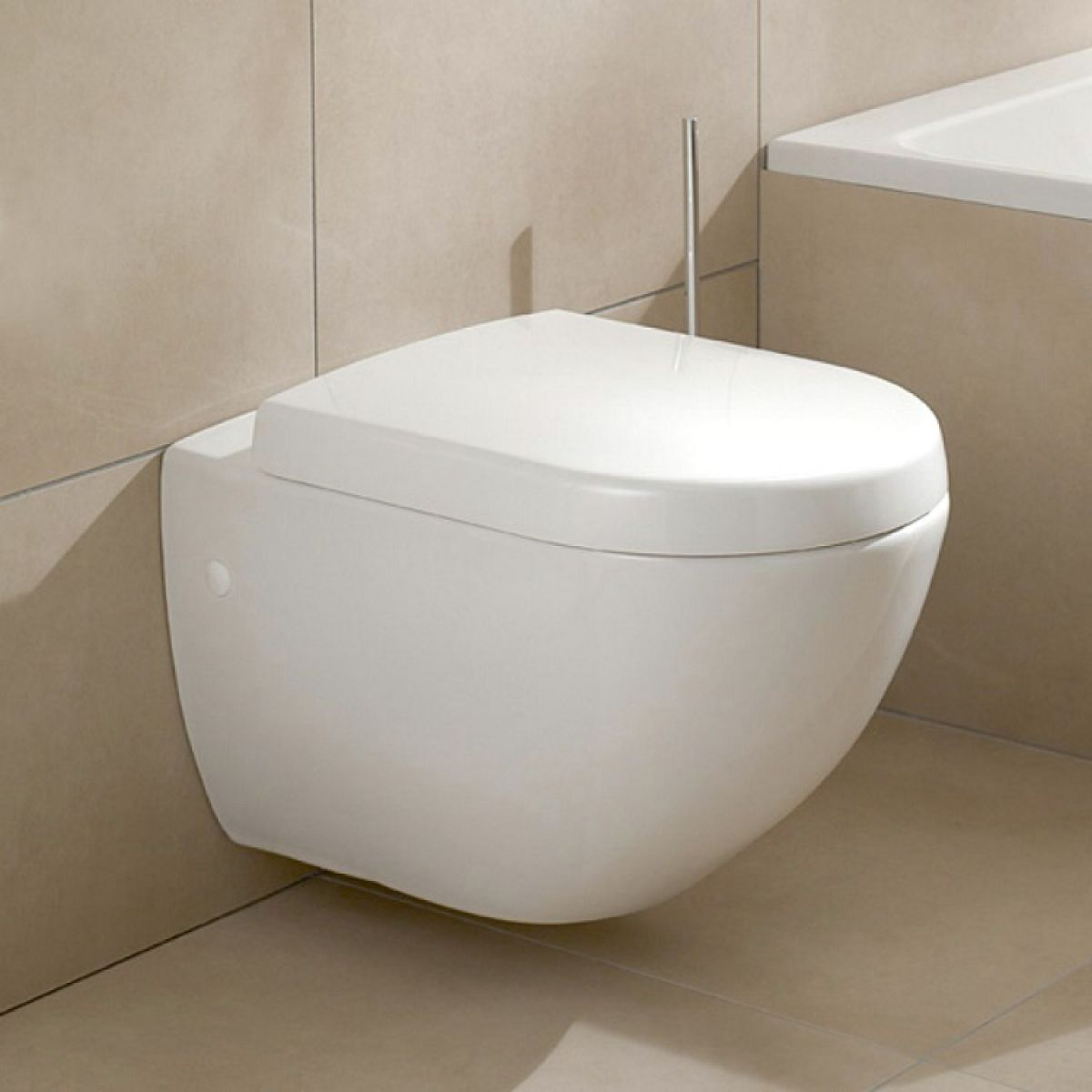 villeroy boch subway 2 0 compact wall hung toilet uk bathrooms. Black Bedroom Furniture Sets. Home Design Ideas