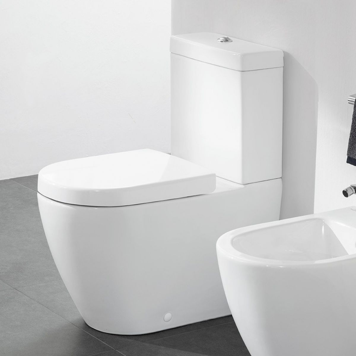 villeroy boch subway 2 0 rimless close coupled toilet. Black Bedroom Furniture Sets. Home Design Ideas