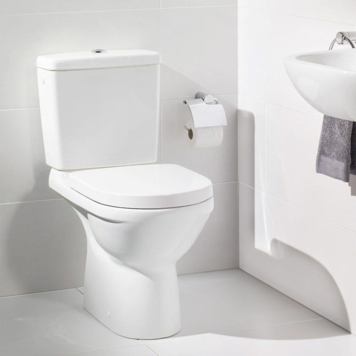 villeroy boch close coupled toilet uk bathrooms. Black Bedroom Furniture Sets. Home Design Ideas