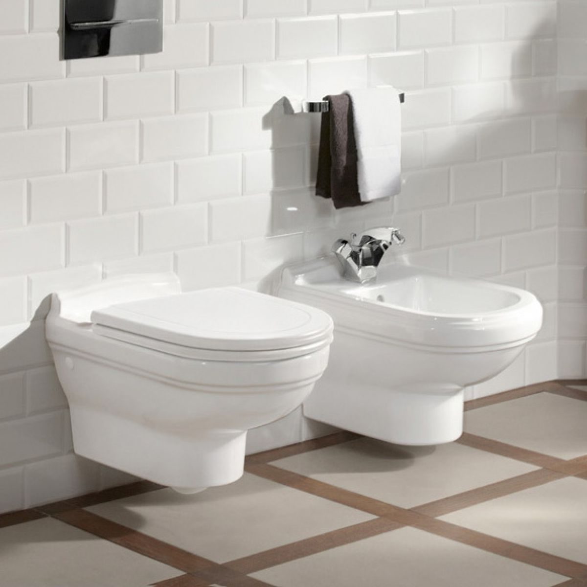 Villeroy Amp Boch Hommage Wall Hung Toilet Uk Bathrooms