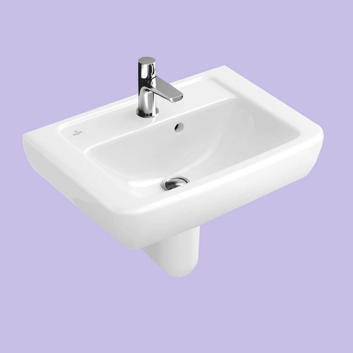 villeroy and boch subway cloakroom basin uk bathrooms. Black Bedroom Furniture Sets. Home Design Ideas