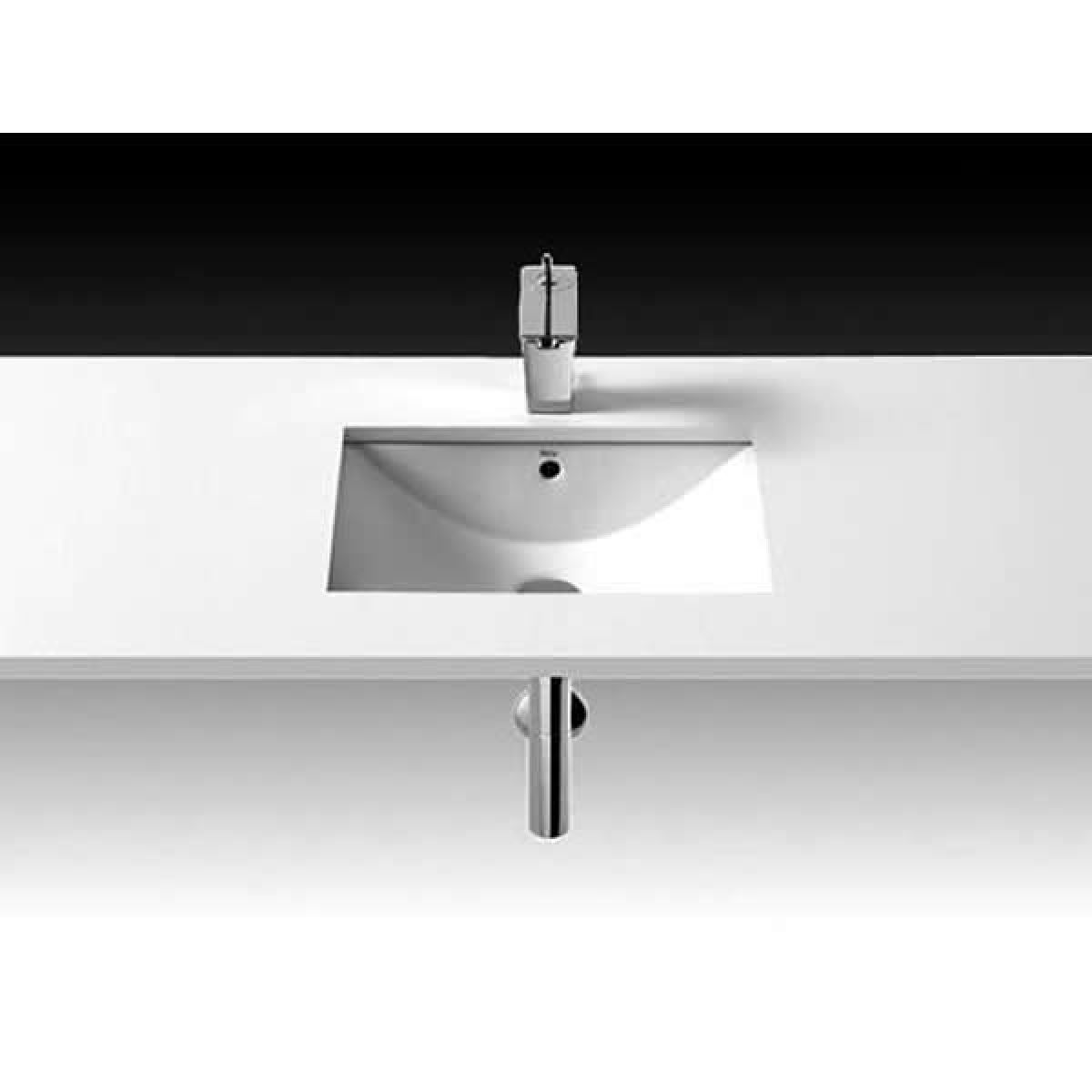 roca diverta under over countertop basin 500mm uk bathrooms