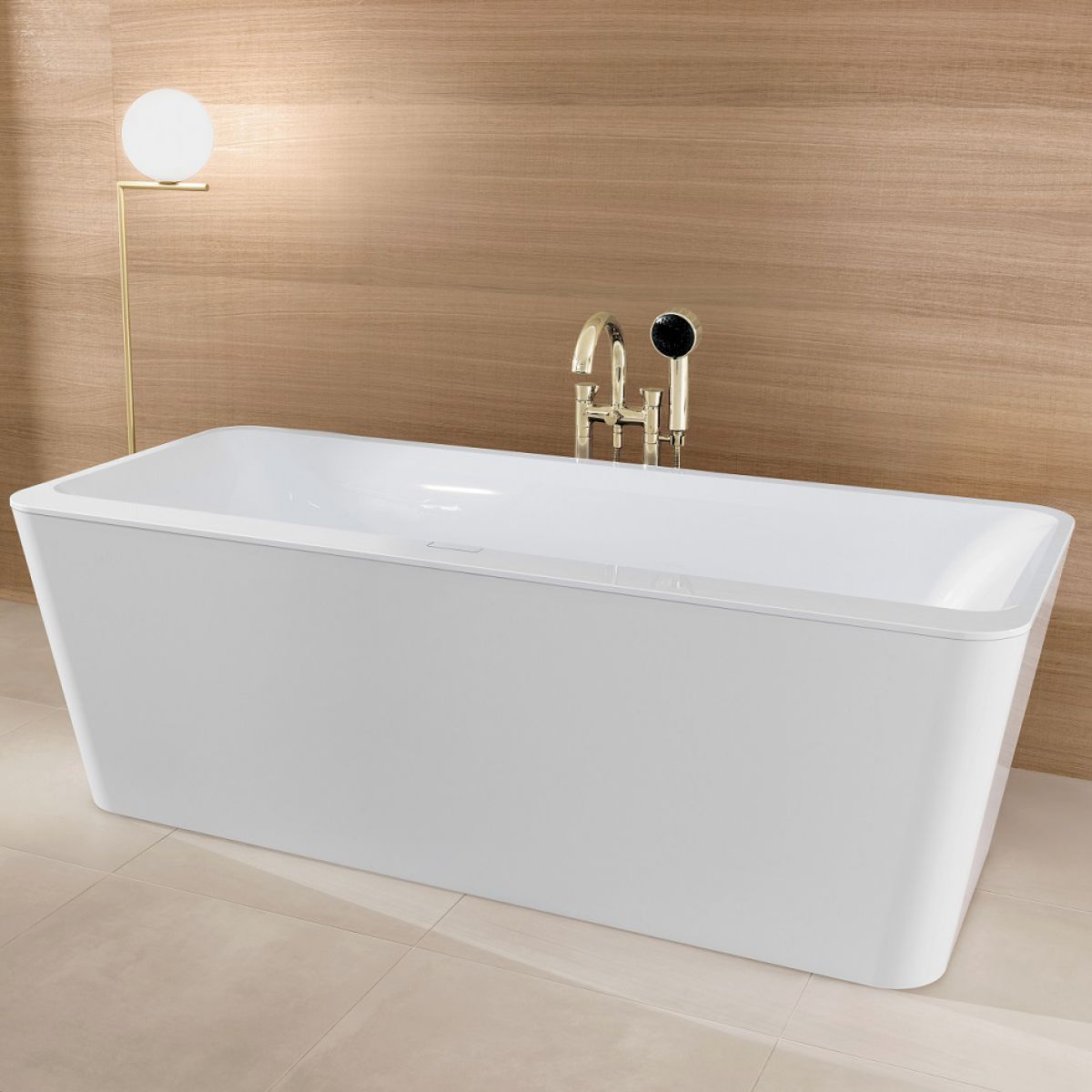 V&B Squaro Edge 12 Freestanding Bath