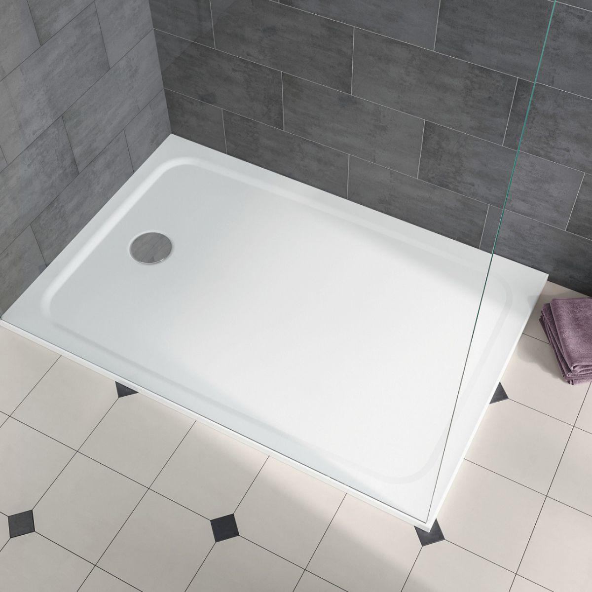 kaldewei cayonoplan rectangular shower tray uk bathrooms. Black Bedroom Furniture Sets. Home Design Ideas