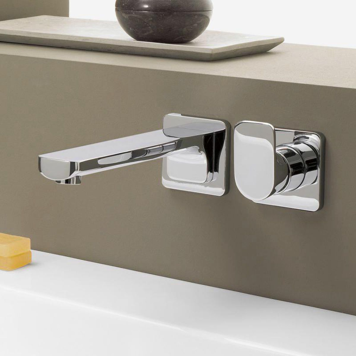 Villeroy And Boch Cult Wall Mounted Basin Mixer Tap Uk