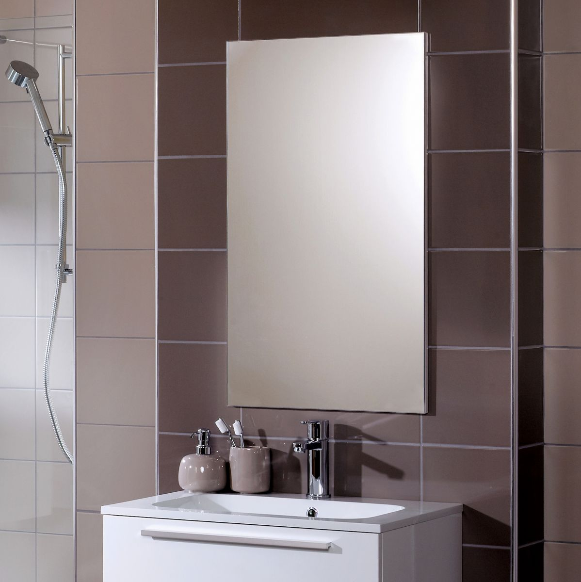 Noble Modular Frameless Mirror Uk Bathrooms