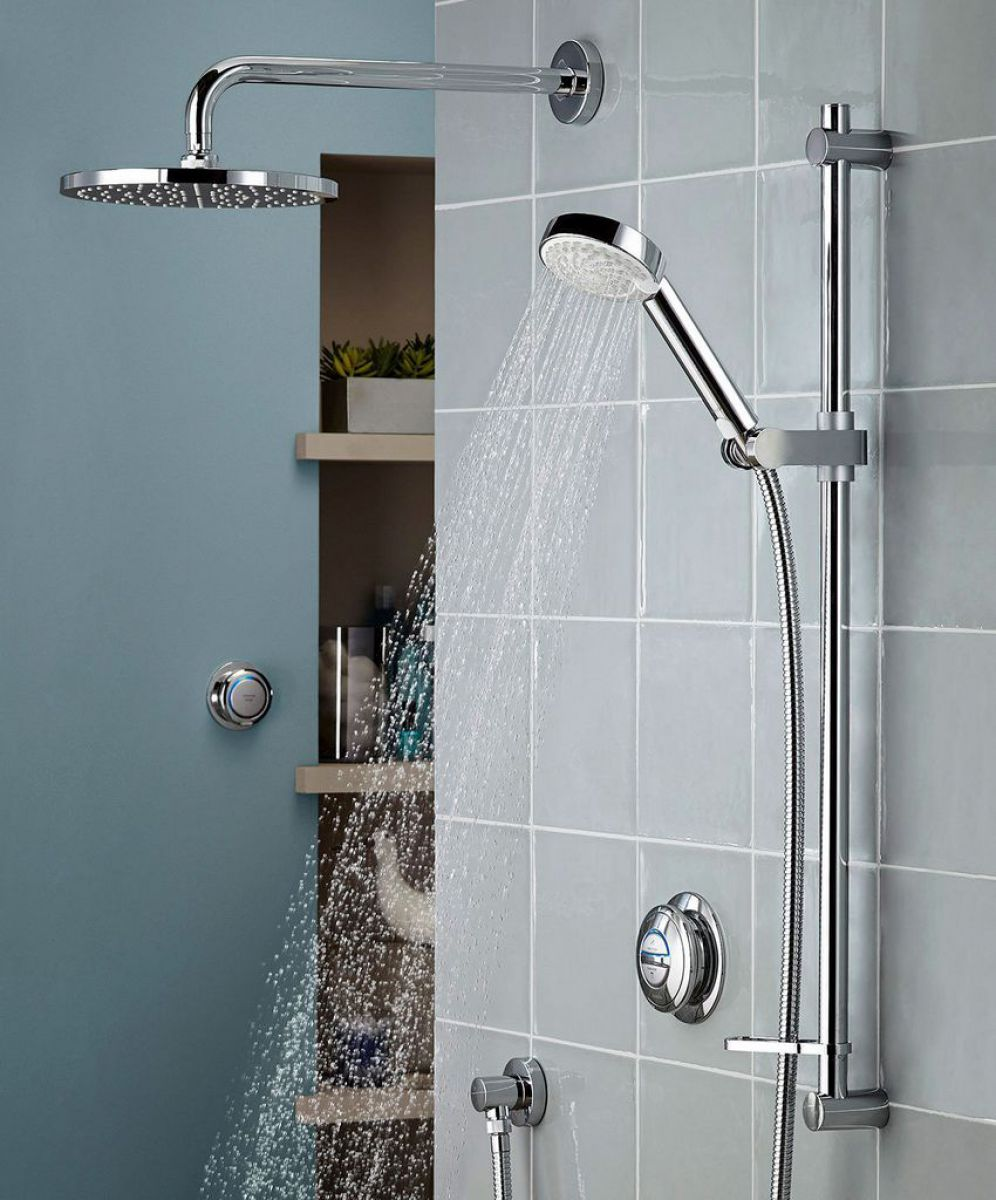 Aqualisa Quartz Smart Concealed Shower With Wall Mounted