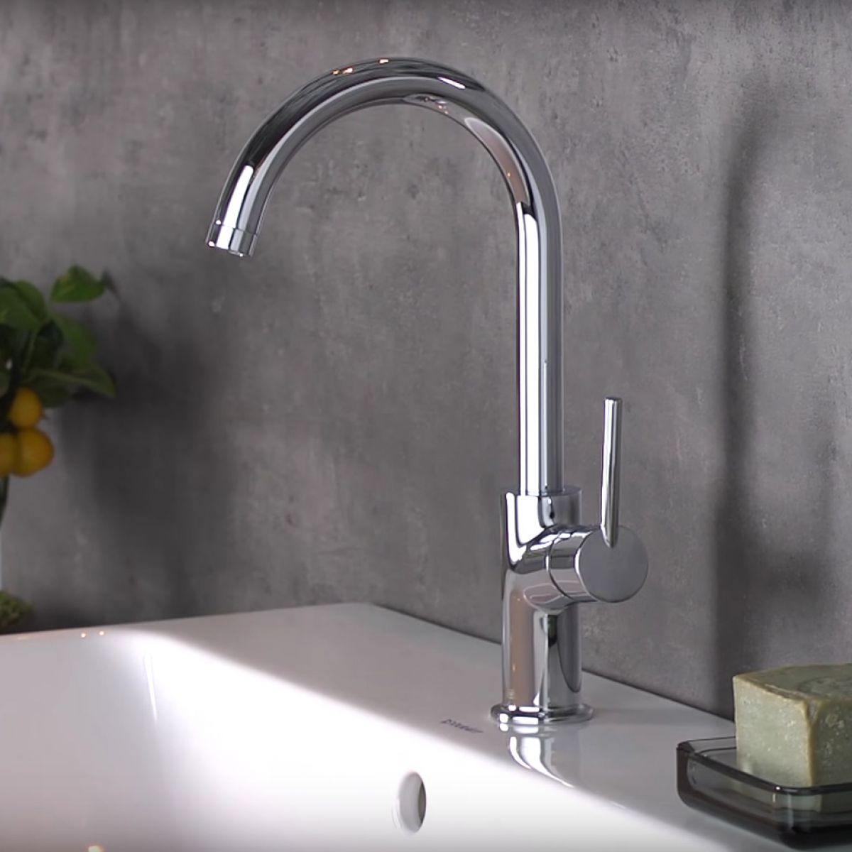 Hansgrohe Talis 210 Single Lever Basin Mixer Tap : UK Bathrooms