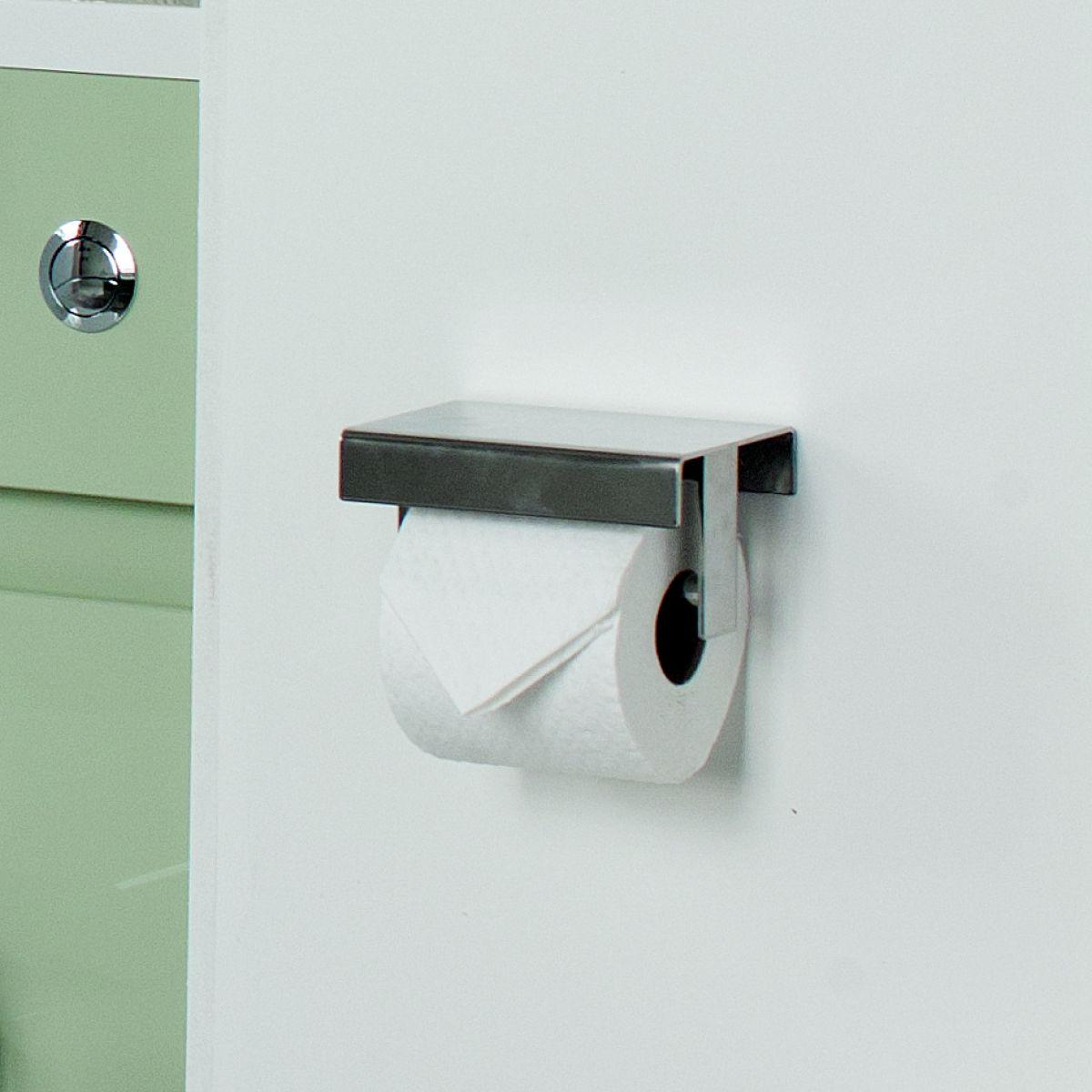Stainless Steel Toilet Roll Holder Part - 35: Britton Stainless Steel Toilet Roll Holder