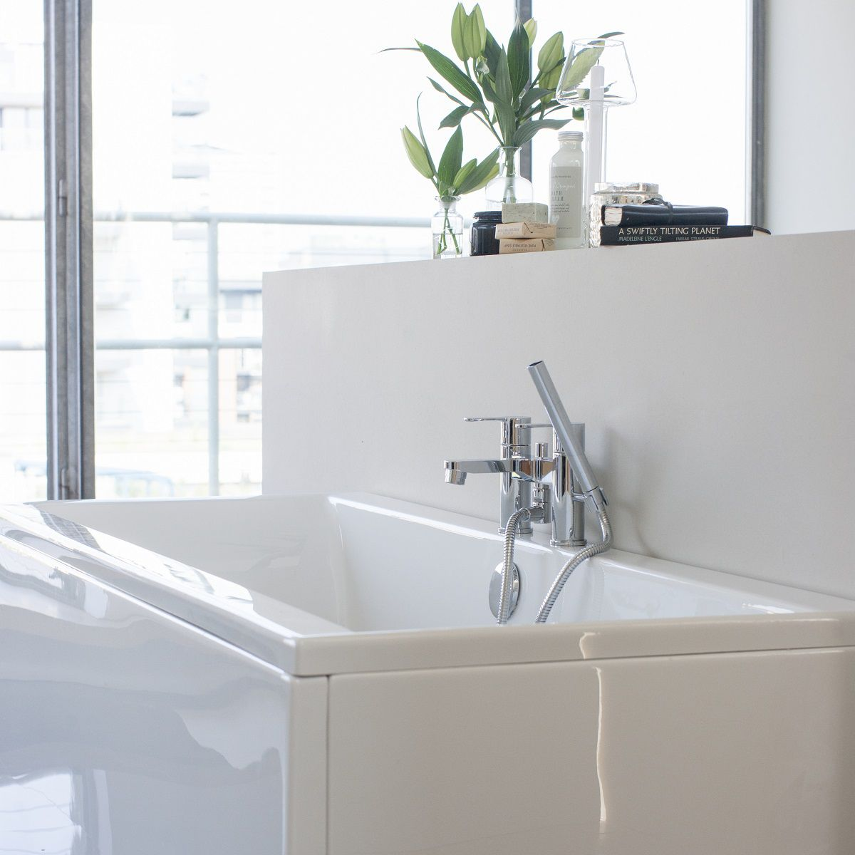 ClearGreen Enviro Contemporary Double Ended Bath : UK Bathrooms