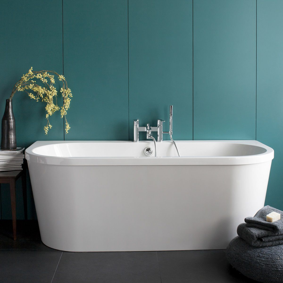 Cleargreen Saturn Modern Freestanding Bath : UK Bathrooms
