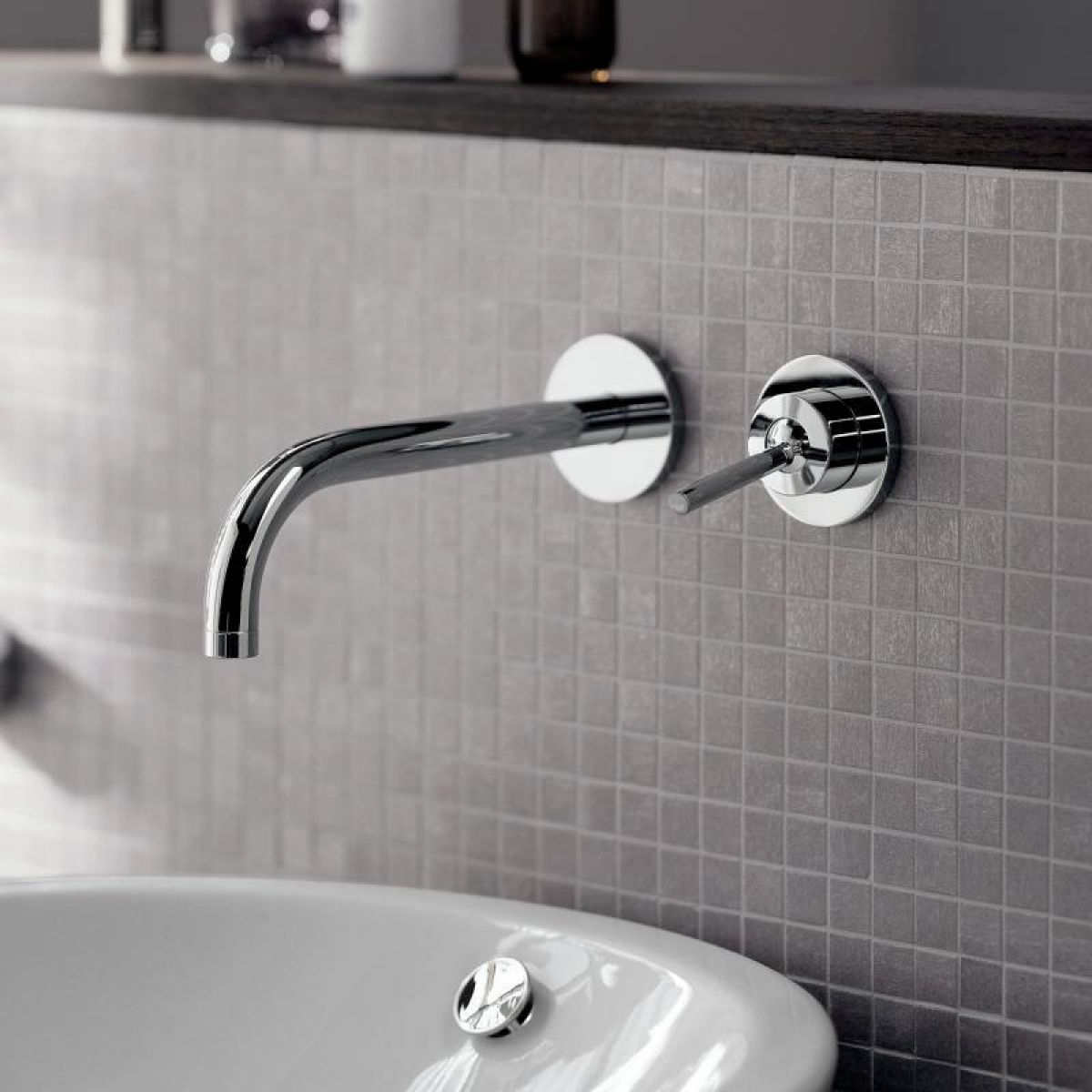 Axor Uno Wall Mounted Basin Mixer Tap Uk Bathrooms