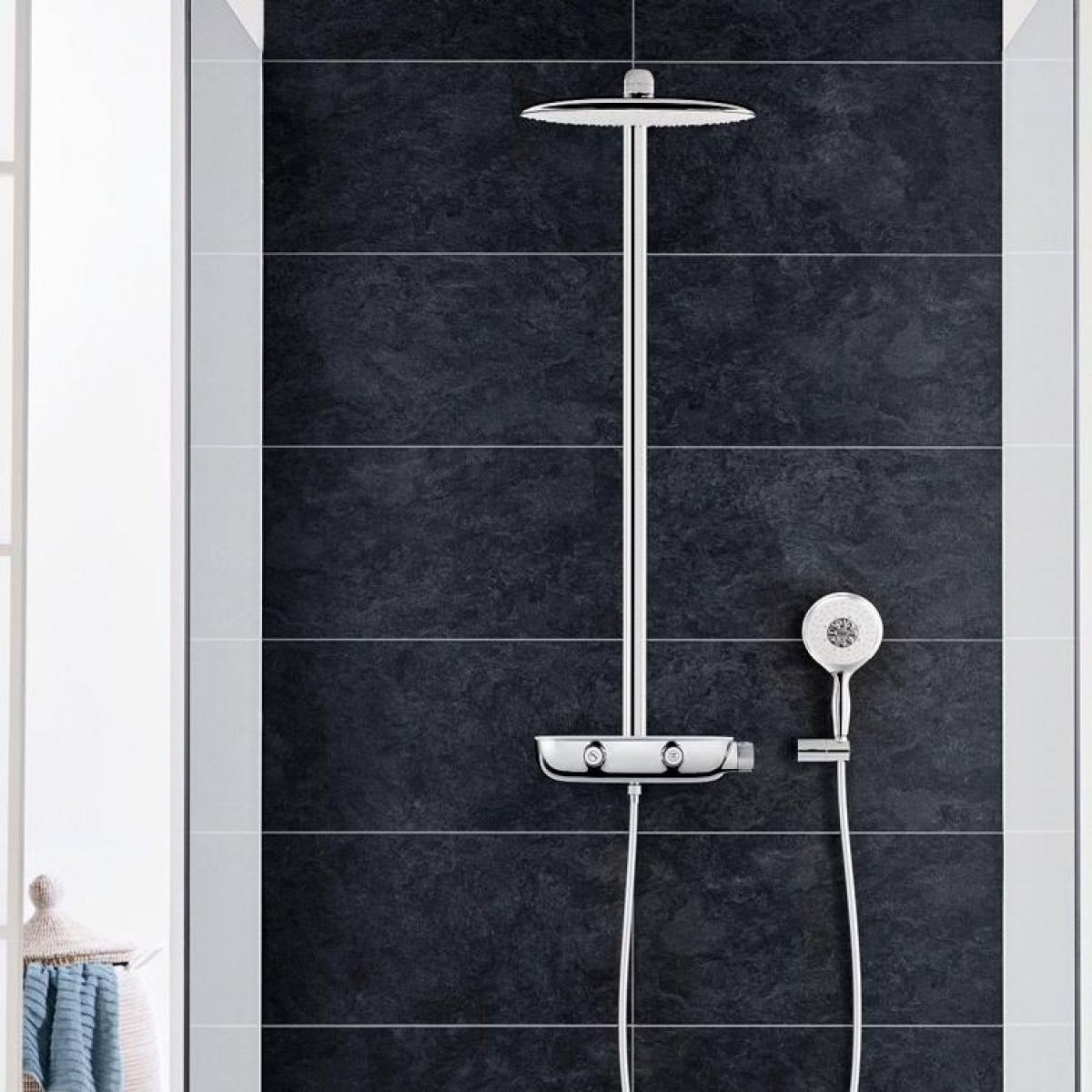 grohe rainshower smartcontrol 360 mono shower system uk. Black Bedroom Furniture Sets. Home Design Ideas