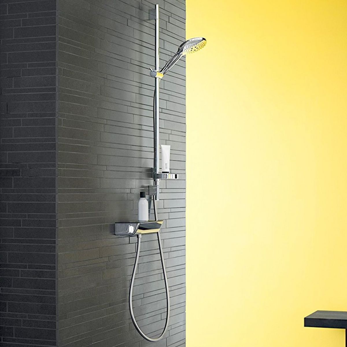 hansgrohe raindance select 150 combi shower kit uk bathrooms. Black Bedroom Furniture Sets. Home Design Ideas