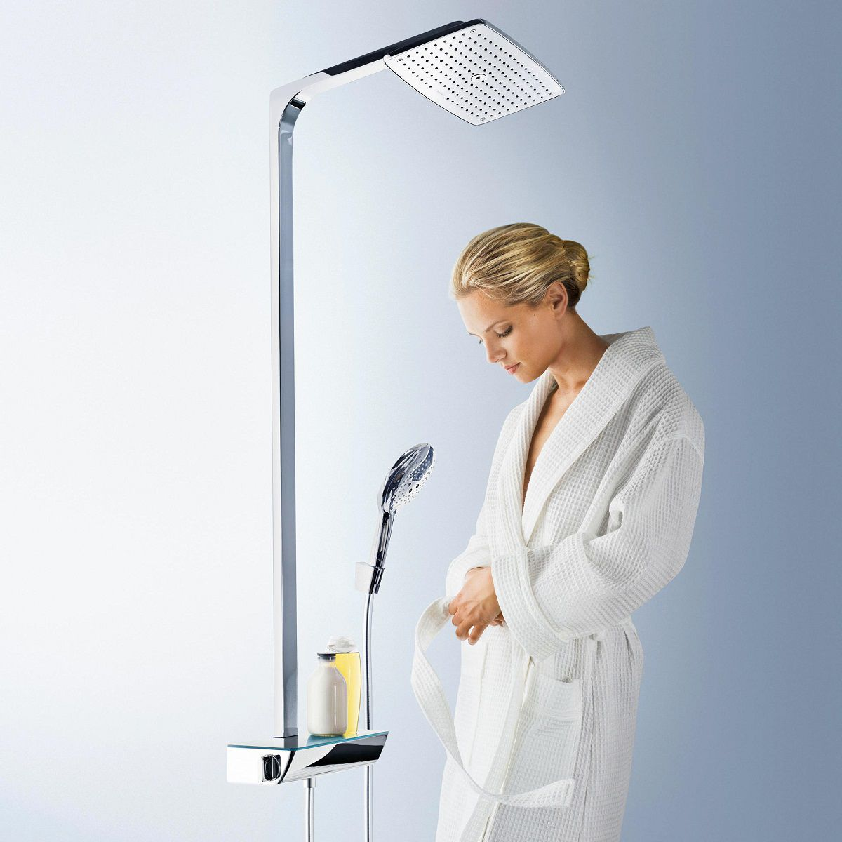 hansgrohe raindance select showerpipe 360 shower system. Black Bedroom Furniture Sets. Home Design Ideas