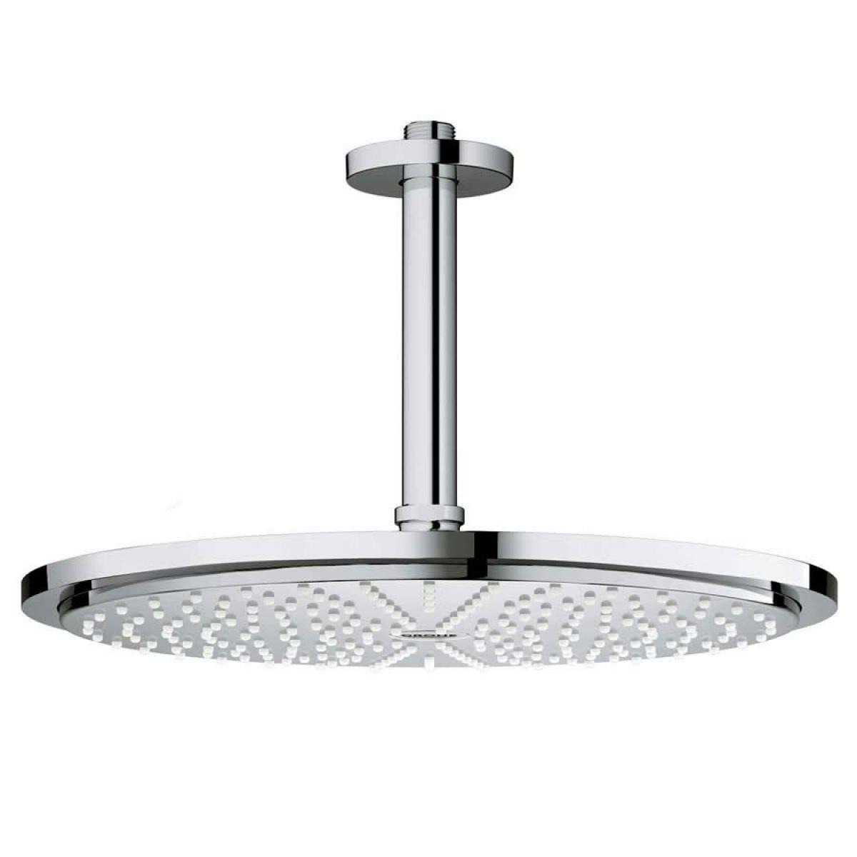 grohe rainshower cosmopolitan 310 shower head set uk bathrooms. Black Bedroom Furniture Sets. Home Design Ideas