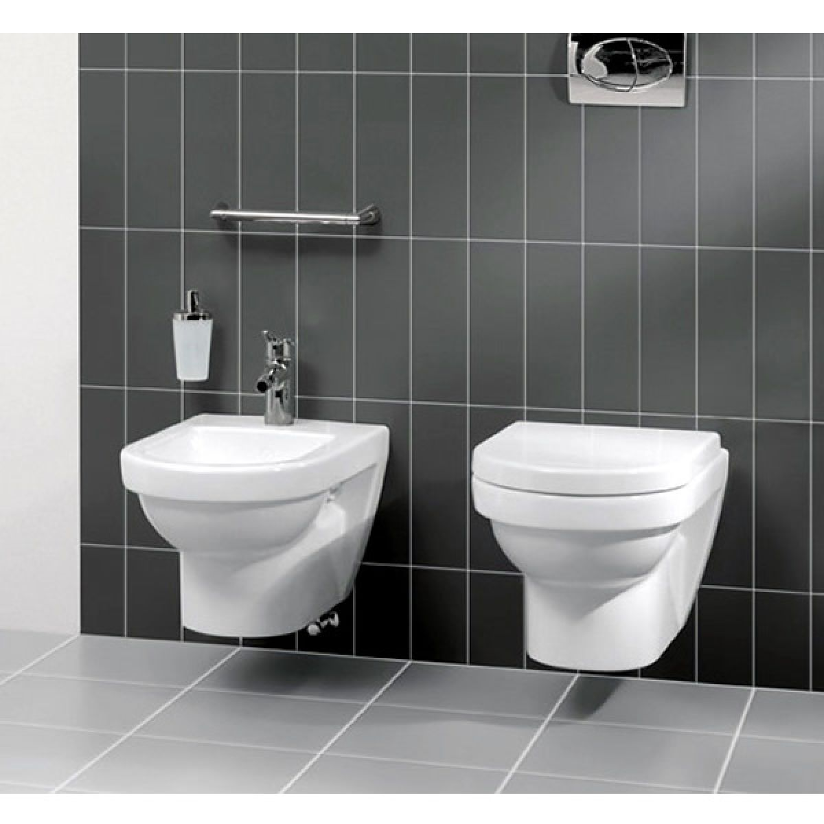 villeroy boch architectura washdown toilet uk bathrooms. Black Bedroom Furniture Sets. Home Design Ideas