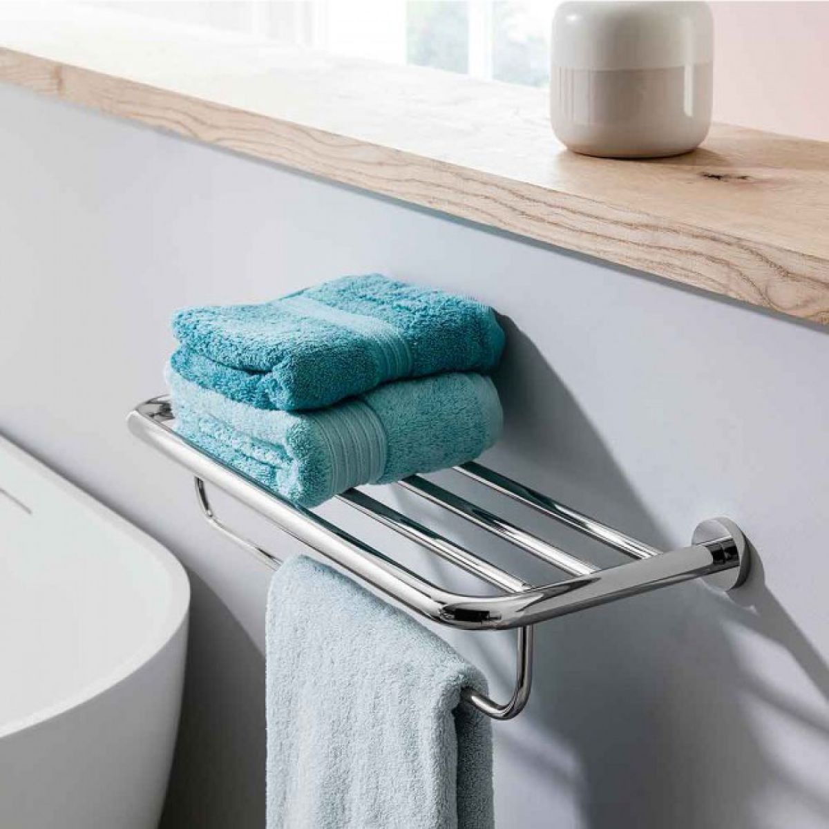 Crosswater Central 2 Tier Towel Rail : UK Bathrooms