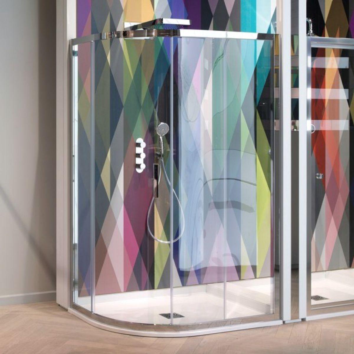 Simpsons Elite Quadrant Single Door Shower Enclosure : UK Bathrooms