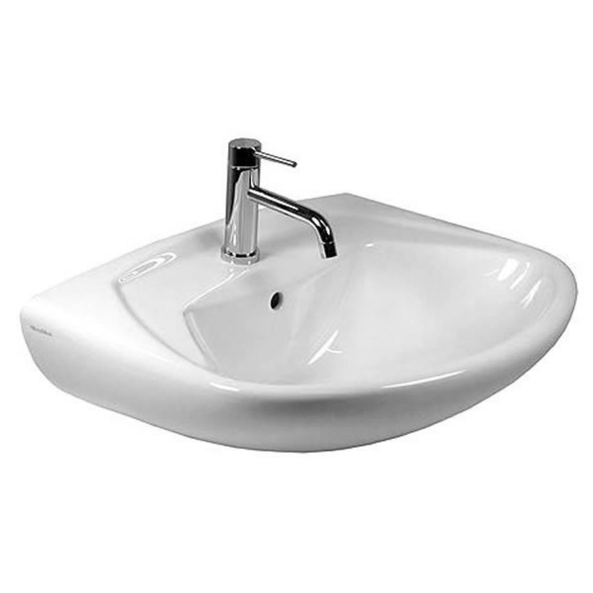 villeroy boch omnia classic 500mm washbasin uk bathrooms. Black Bedroom Furniture Sets. Home Design Ideas