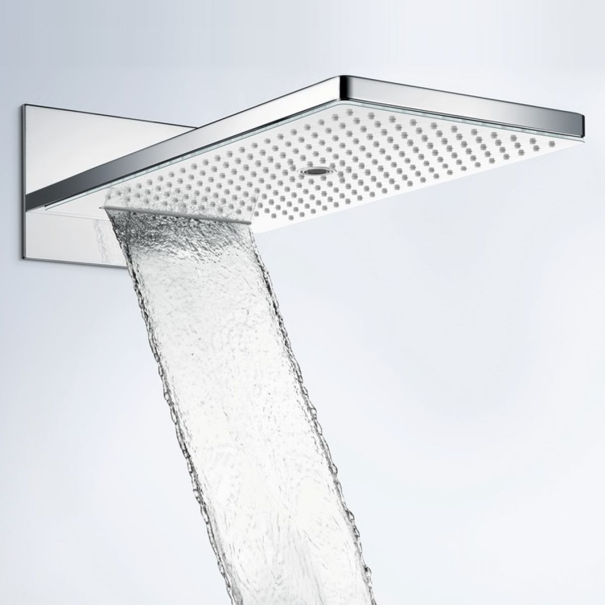 hansgrohe rainmaker select 580 3 jet overhead shower uk bathrooms. Black Bedroom Furniture Sets. Home Design Ideas