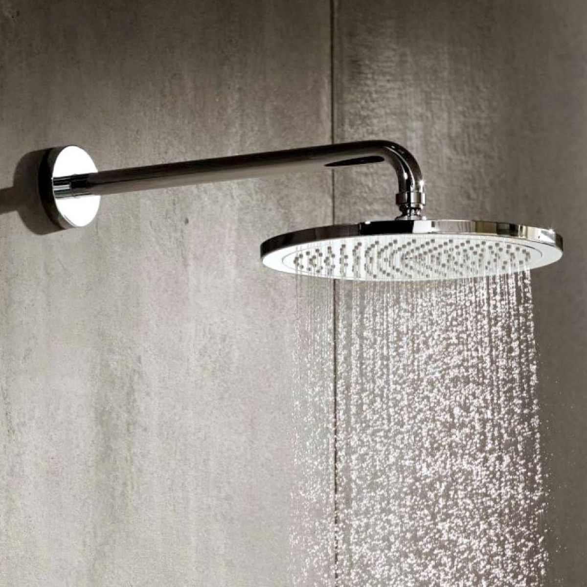 hansgrohe croma 280 air 1jet overhead shower uk bathrooms. Black Bedroom Furniture Sets. Home Design Ideas