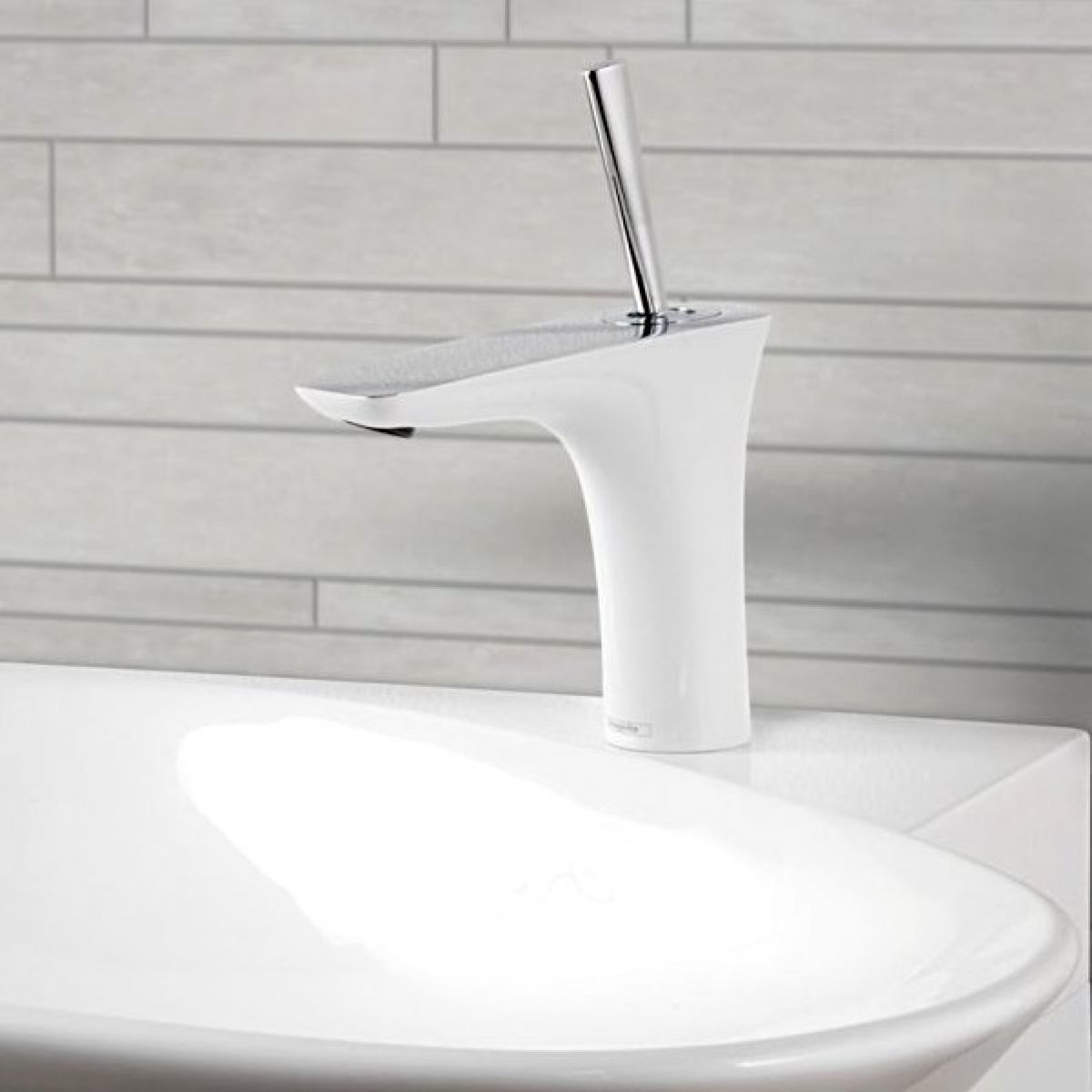 Hansgrohe puravida basin mixer 110 with waste uk bathrooms for Hansgrohe puravida