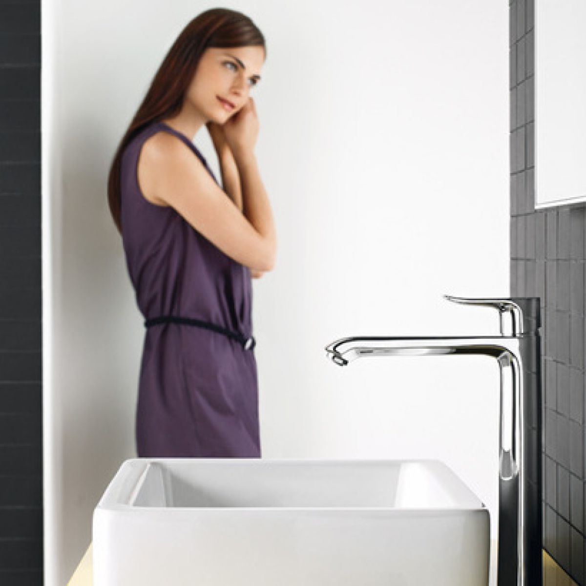 Hansgrohe Metris 260 Taller Basin Mixer Tap Uk Bathrooms