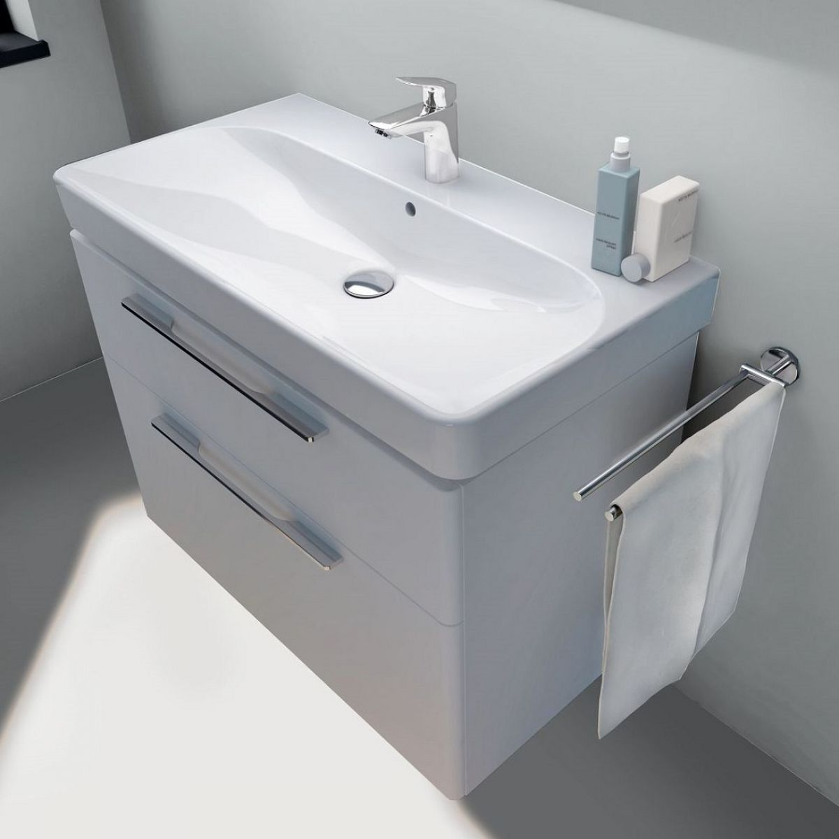 Geberit Smyle Vanity Unit With 2 Drawers Uk Bathrooms