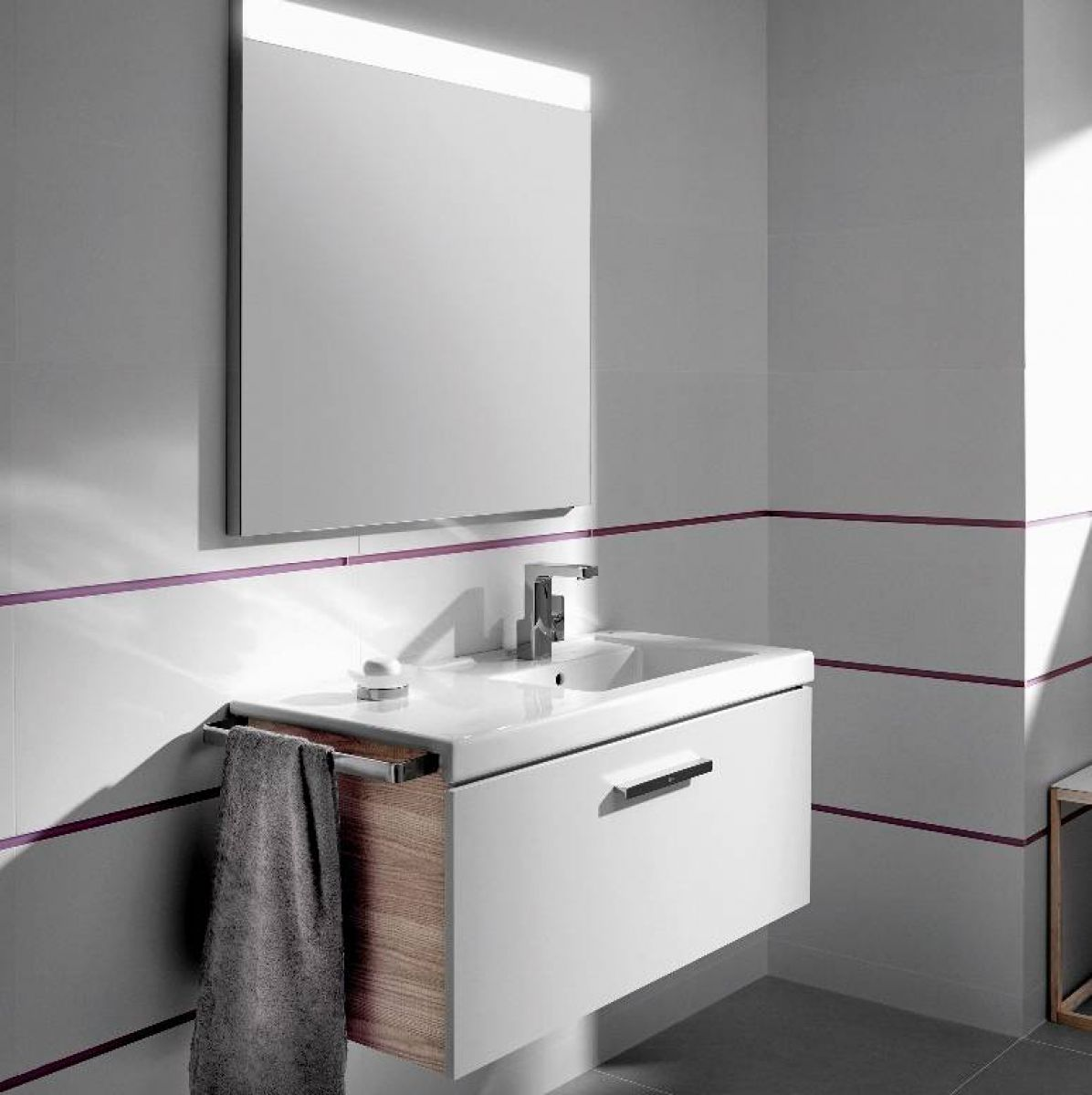 Roca Prisma Vanity Unit 900mm Uk Bathrooms