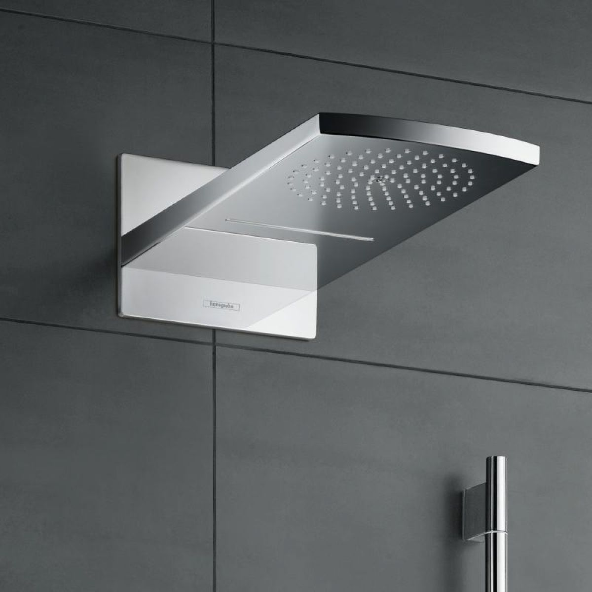 Hansgrohe Raindance Rainfall 180 Air 2jet Overhead Shower : UK Bathrooms